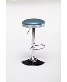 Copley Collection Backless Adjustable Stool with Chrome Base