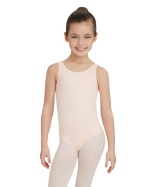 Capezio Kids' Toddler Girls Tank Leotard In Scarlet