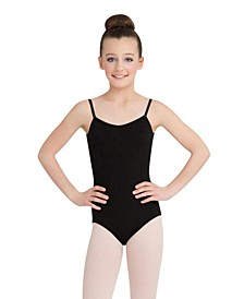 Big Girls V Neck Camisole Leotard