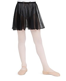 Capezio Little and Big Girls Pull on Circular Skirt