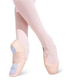 Capezio Little Girls Leather Juliet Ballet Shoe