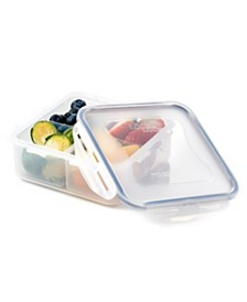 Lock n Lock Easy Essentials™ 29-Oz. On the Go Divided Square Food Storage Container