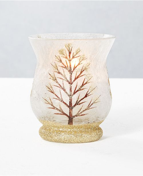Home Essentials CLOSEOUT! Holiday Tree Mini Votive Holder