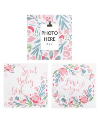 Painterly Floral Wall Art 3-Pack
