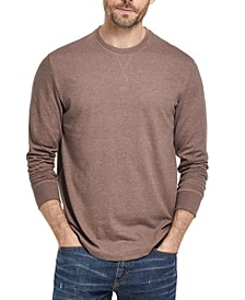 Men's Brushed Long-Sleeve Jersey T-Shirt