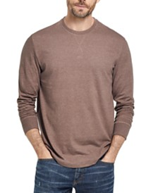 Weatherproof Vintage Men's Brushed Long-Sleeve Jersey T-Shirt