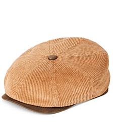 Men's Corduroy Newsboy Cap