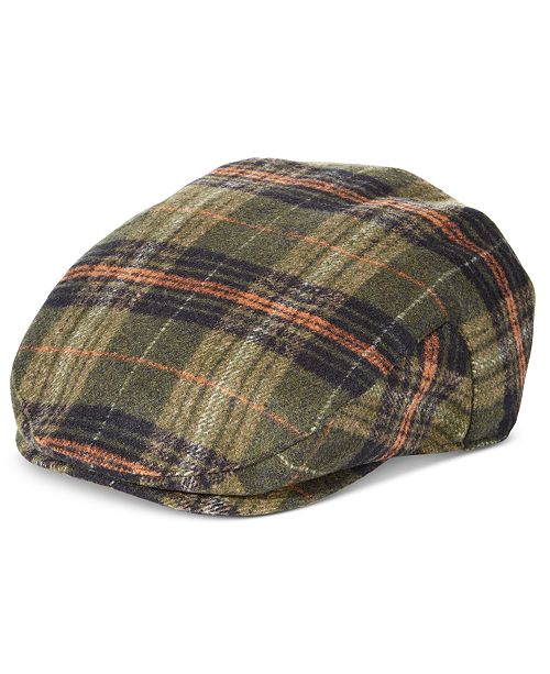 STETSON Men's Plaid Ivy Cap