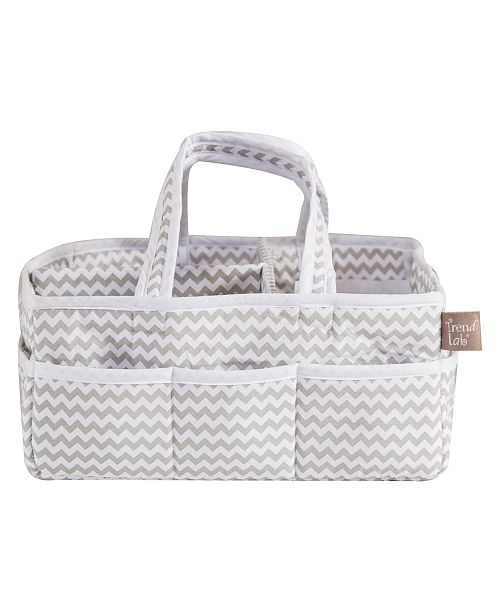 Trend Lab Chevron Print Storage Caddy