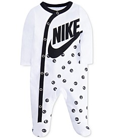 Smiley Dot Footed Coverall