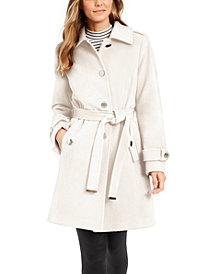 Michael Michael Kors Belted Walker Coat, Created for Macy's