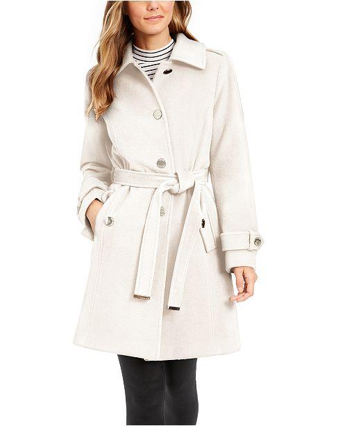 Michael Kors Belted Walker Coat, Created for Macy's