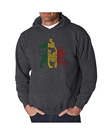 Men's Word Art Hoodie, One Love