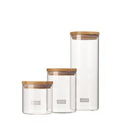 TRINITY Glass Canister Set