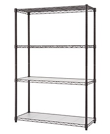 NSF 4-Tier Indoor Wire Shelving Rack