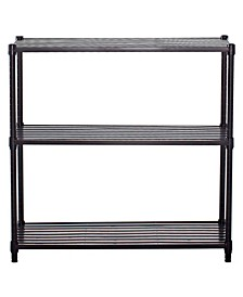 3-Tier Slat Shelving Rack