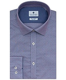 Men's Ultimate Slim-Fit Non-Iron Performance Stretch Moisture-Wicking Dobby Dress Shirt, Created for Macy's