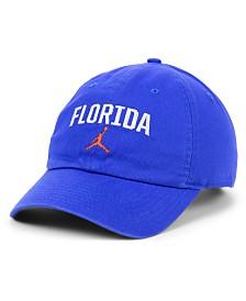 Jordan Florida Gators Heritage 86 Wordmark Swoosh Strapback Cap
