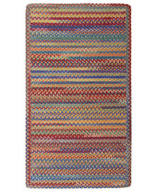 Capel Area Rug, American Legacy Rectangle Braid 0210-950 Primary Multi 3' x 5'