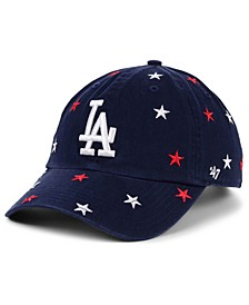 Women's Los Angeles Dodgers Fourth Of July Confetti Strapback Cap