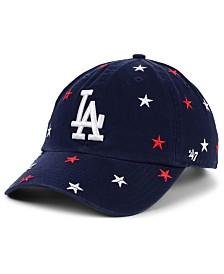 '47 Brand Women's Los Angeles Dodgers Fourth Of July Confetti Strapback Cap