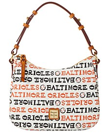 Baltimore Orioles Small Kiley Hobo Bag