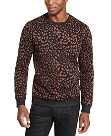 INC Men's Animal Print Pullover, Created for Macy's