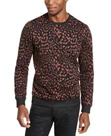 I.N.C. Men's Animal Print Pullover, Created for Macy's