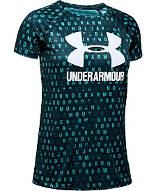 Under Armour Big Girls Logo T-shirt