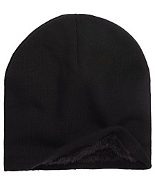 Men's Lined Beanie, Created For Macy's