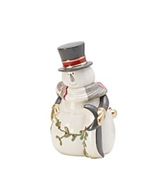 Fitz & Floyd Mistletoe Merriment Cookie Jar