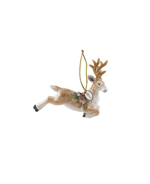 Fitz and Floyd Fitz & Floyd Forest Frost Deer 2019 Ornament