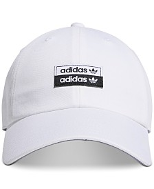 adidas Men's Originals Stacked-Logo Cap