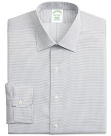 Brooks Brothers Men's Milano Slim-Fit Non-Iron Dobby Supima® Cotton Dress Shirt