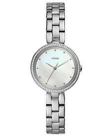 Fossil Women's Maxine Stainless Steel Bracelet Watch 30mm