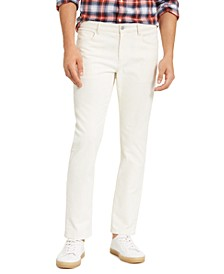 Men's Slim-Fit Stretch Parker Corduroy Pants
