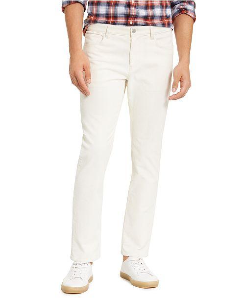 Michael Kors Men's Slim-Fit Stretch Parker Corduroy Pants