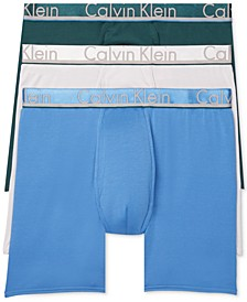 Men's Comfort Microfiber Boxer Brief 3 Pack