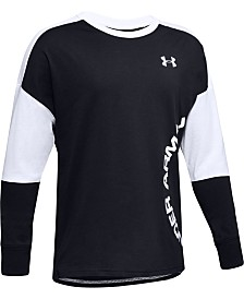 Under Armour Big Boys Sportstyle Colorblocked T-Shirt