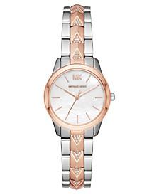 Women's Runway Mercer Two-Tone Stainless Steel Bracelet Watch 28mm