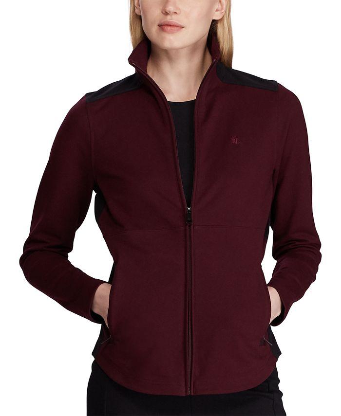 Lauren Ralph Lauren - Colorblocked Track Jacket