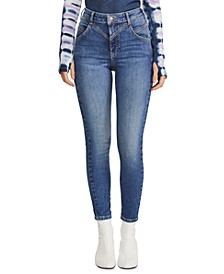 Riley Seamed Skinny Jeans
