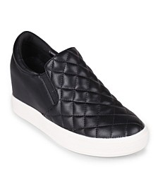 Bushkill Quilted Wedge Sneaker