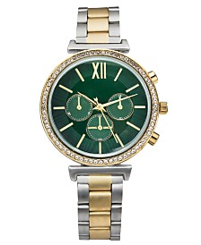 Charter Club Women's Two-Tone Bracelet Watch 38mm, Created For Macy's