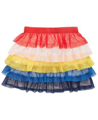 Little Girls Tiered Skirt, Created for Macy's