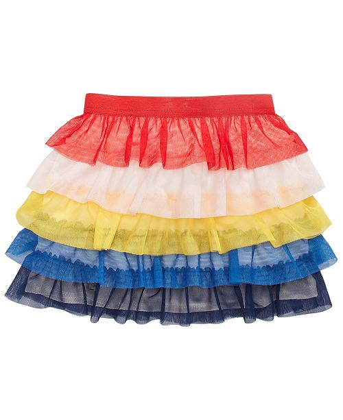 Epic Threads Toddler Girls Multicolored Tiered Skirt, Created for Macy's