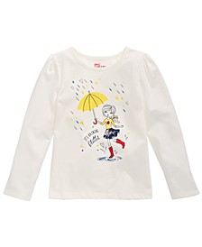 Little Girls Umbrella Girl T-Shirt, Created for Macy's
