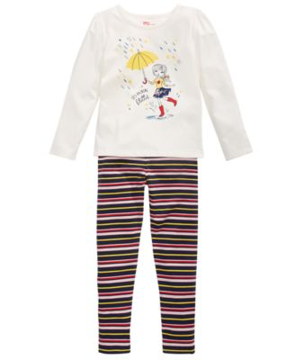 Toddler Girls It's Raining Glitter T-Shirt, Created for Macy's