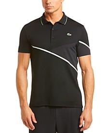 Men's Mixed Media Sport Polo Shirt