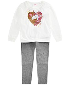 Epic Threads Big Girls Unicorn Top & Leggings, Created for Macy's
